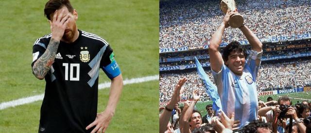Leo Messi e l'eterna ossessione chiamata Diego Armando Maradona