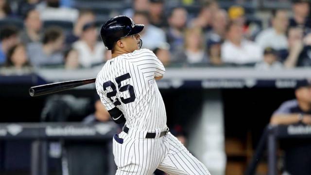 Gleyber Torres pinta para ser un jugador de época en pinstripes. MLB.com.