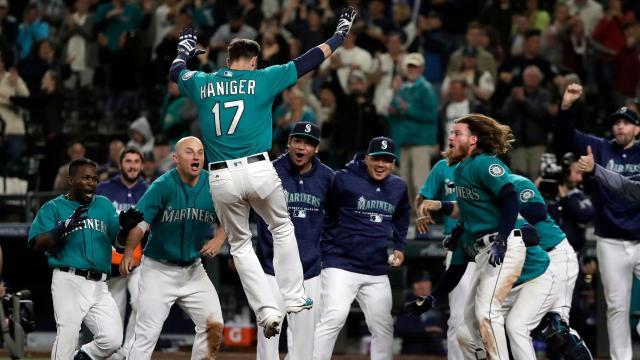 Haniger ha sido la pieza clave de los Mariners. MLB.com.