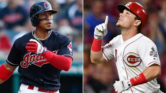 Lindor y Gennett fueron los jugadores del mes en mayo. MLB.com.