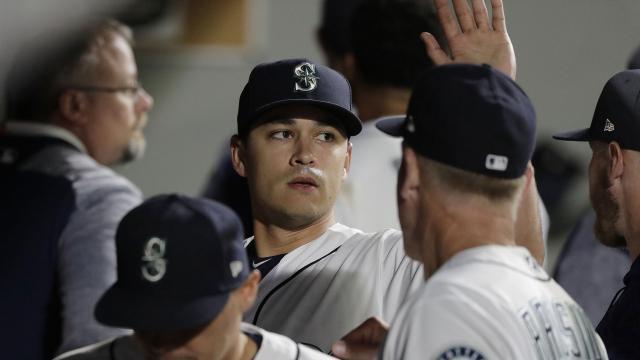 Marc Gonzales ha sido la gran sorpresa en la rotación de los Mariners. MLB.com.