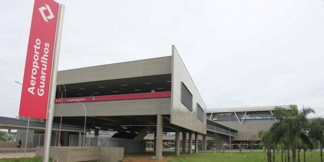 Nova estação - Aeroporto de Guarulhos.