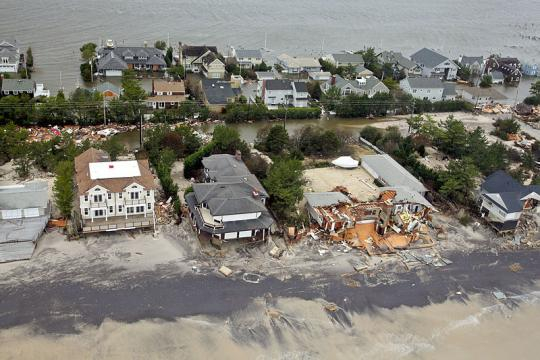 Flooding from Hurricane Sandy to the New Jersey coast (Image - Mark C. Olsen, Wikimedia Commons)