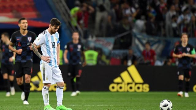 Coupe du monde 2018 : la Croatie fait sombrer l'Argentine de Messi - francetvinfo.fr