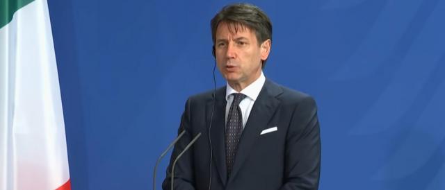 Il premier italiano Giusepe Conte
