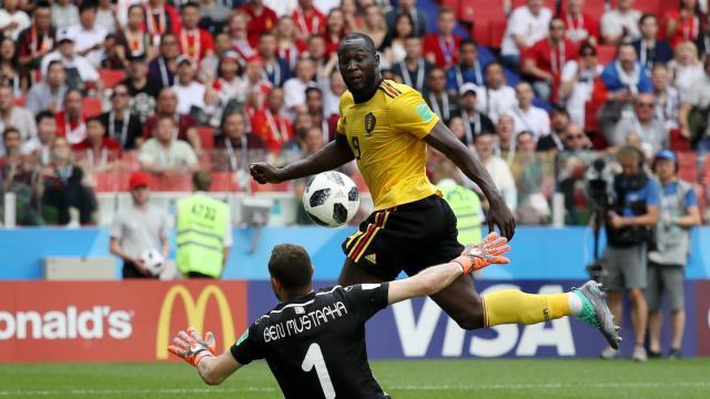 Lukaku ya lleva 4 goles en el Mundial. FIFA.com.
