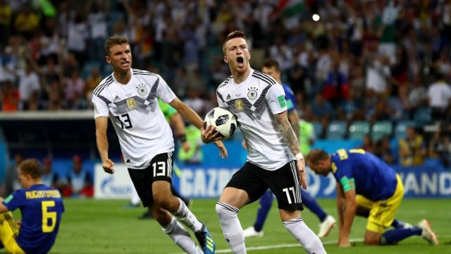 Marco Reus tuvo su revancha al poder jugar este Mundial tras lesiones en el pasado. FIFA.com.