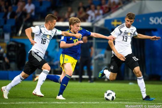 CDM 2018 - Kroos sauve l'Allemagne face à la Suède (résumé et notes) - madeinfoot.com