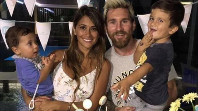 Nació Ciro, el tercer hijo de Messi y Antonela | DiarioShow | El ... - diarioshow.com