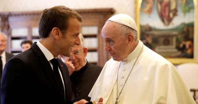 Macron au Vatican : défendre les plus faibles est la « vocation ... - ouest-france.fr