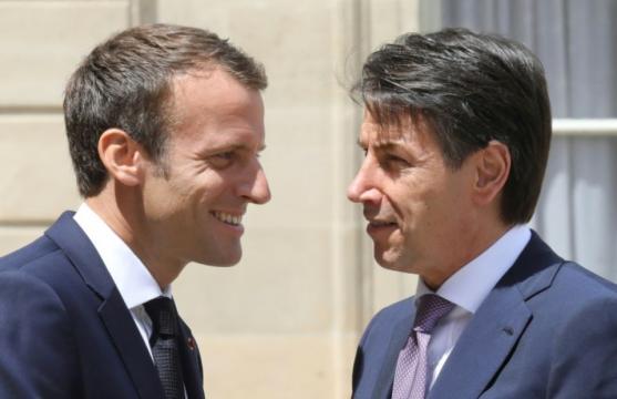 Macron reçoit Conte à l'Elysée : «La solidarité à l'égard de l ... - liberation.fr