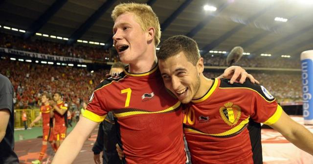 Eden Hazard and Kevin De Bruyne - Belgium's very own Gerrard ... - mirror.co.uk