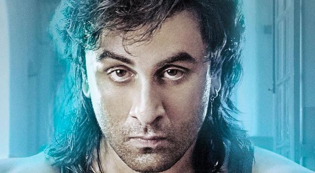 Ranbir Kapoor's Look In Latest 'Sanju' Poster Will Take You Back ... - (movietalkies/Twitter)