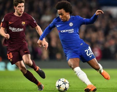 Rumeur Mercato : Chelsea refuse une offre de 55 M€ du Barça pour Willian
