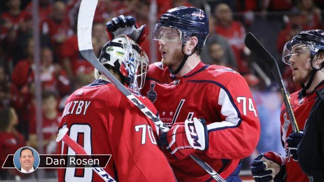 Holtby sigue parando como en su campaña de Vezina Trophy. NHL.com.