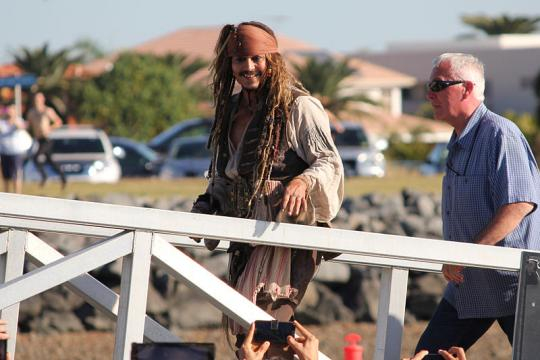 Johnny Depp in Queensland, Australia, June 2015. - [Image credit – NJM2010 / Wikimedia Commons]