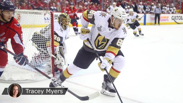Tomas Nosek sigue siendo el mejor de Vegas en la Stanley Cup Final. NHL.com.