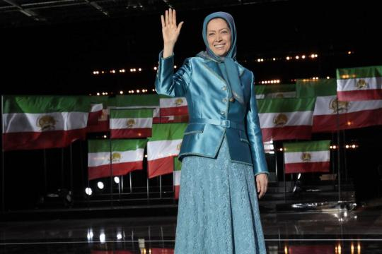 Iranian gathering in Paris 30 june Maryam Rajavi
