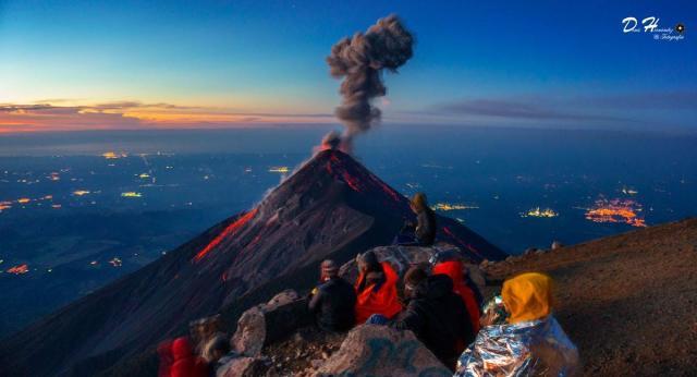 L'image du jour : Le volcan Fuego du Guatemala