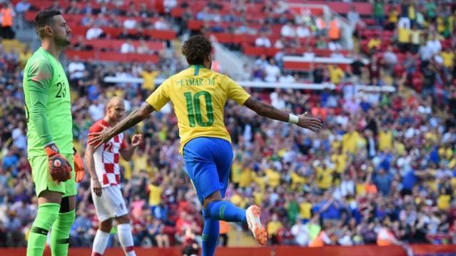 Neymar volvió e ilusiona a todo Brasil ... - com.ar