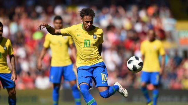 Neymar volvió y metió un gol ... - com.ar