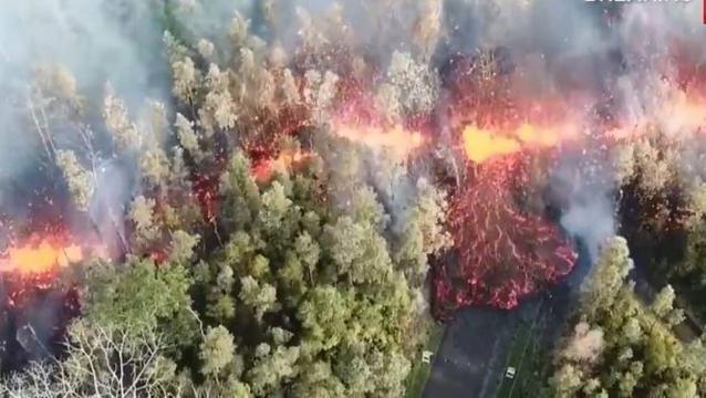 El volcán de Guatemala estalla