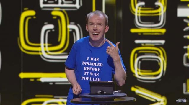 Lee Ridley, known as the Lost Voice Guy, has opened up about how he will spend his winnings on 'BGT' [Image Britain's Got Talent/YouTube]