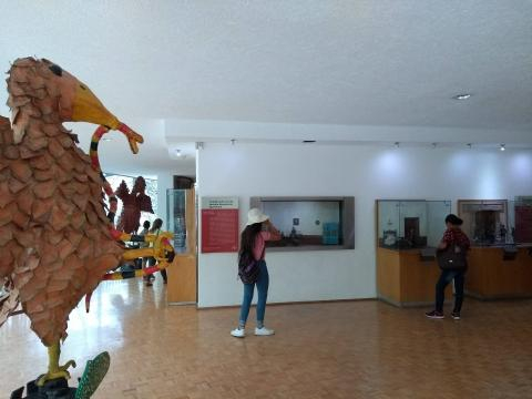 Recorrido tradicional en la Galería de Historia, animado ahora también con águilas gigantes.