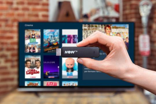 La Smart Stick di Now TV, il device innovativo per vedere i contenuti dove vuoi