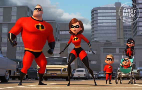 Los Increíbles 2': Primera imagen de la familia de superhéroes al ... - fotogramas.es