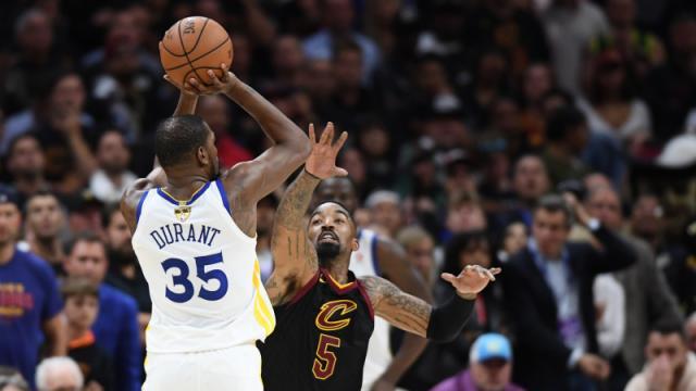 Durant otra vez fue la clave como en las Finales del año pasado. NBA.com.