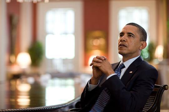 President Barack Obama at Blair House in Washington, D.C. (Image courtesy - Pete Souza, Wikimedia Commons)