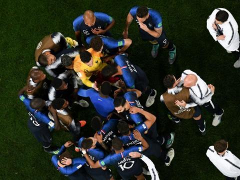 Les Bleus battent la Belgique (1-0)