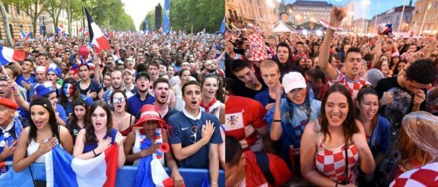 Finale dei Mondiali 2018: attesa alle stelle per i tifosi di Francia e Croazia