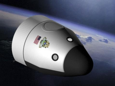 New Shepard spacecraft (Image courtesy - NASA, Wikimedia Commons)