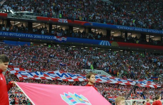 Voici le message pour les Russes des supporters croates présents ... - sputniknews.com