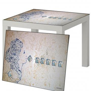 Table art, il design incontra l' arte