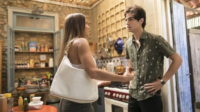 Valentim fica devastado ao descobrir a verdade sobre sua mãe (Foto: Divulgação/TV Globo)