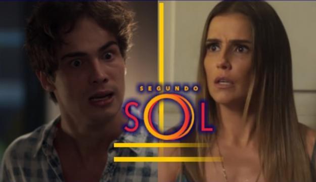 Rosa conta para Valentim o que Karola fazia no passado