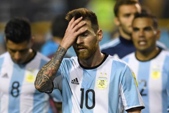 Messi, Argentina on verge of World Cup catastrophe - nypost.com