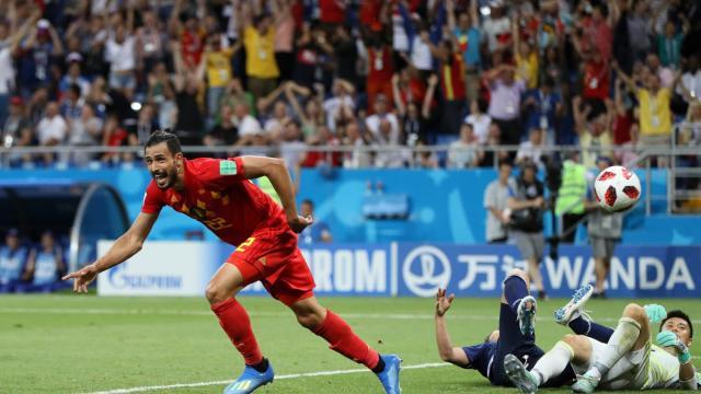 Bélgica tiene remontada infernal para dejar tendido en el terreno a Japón