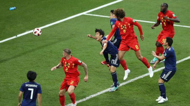 Fellaini fue otro cambio que entró para producir un gol clave. FIFA.com