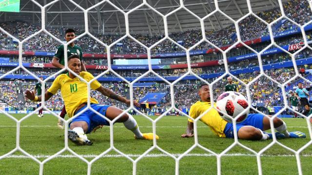 Neymar Jr. fue otra vez el que desequilibró el partido para Brasil. FIFA.com