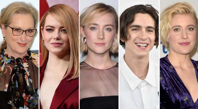Several famous actors are pegged to play roles in the upcoming adaptation of