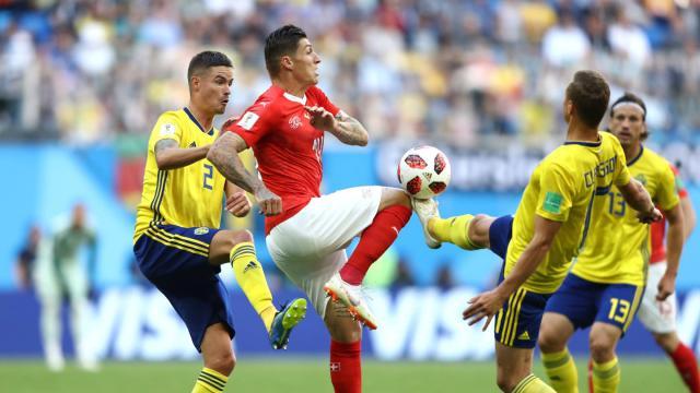 Suecia ha establecido un tremendo esquema defensivo con Jan-Olof Andersson. FIFA.com