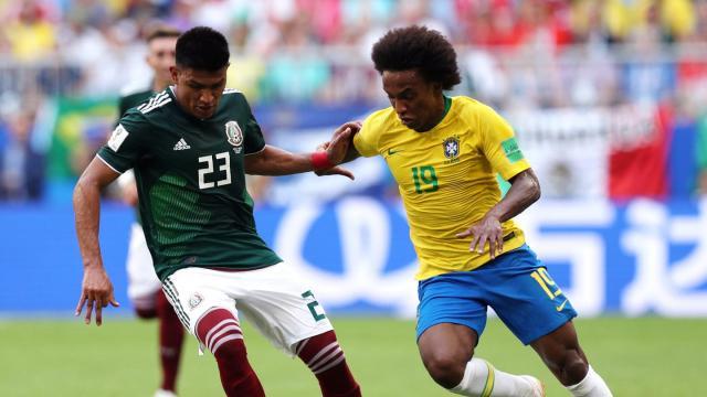 Willian tuvo su mejor partido de la Copa del Mundo. FIFA.com