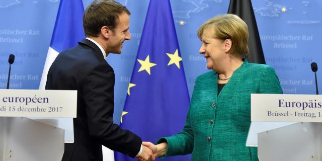 Comment Macron et Merkel veulent renforcer le couple franco-allemand - lejdd.fr