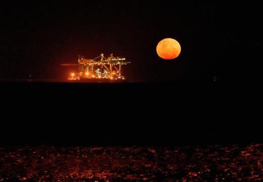 Lua de Sangue o maior fenômeno da natureza.