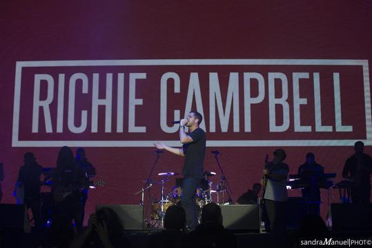 Richie Campbell no Meo Marés Vivas 2018 [Imagem: Sandra Manuel]