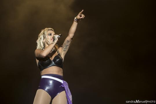 Rita Ora no Meo Marés Vivas 2018 [Imagem: Sandra Manuel]